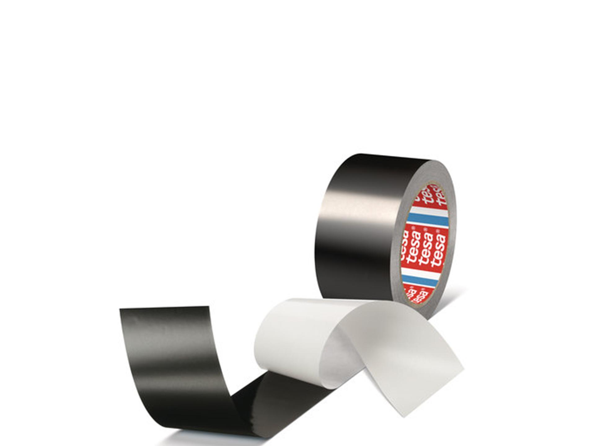 tesa 50577 50mm x 25m all black aluminium scharnau city shop gmbh. Black Bedroom Furniture Sets. Home Design Ideas